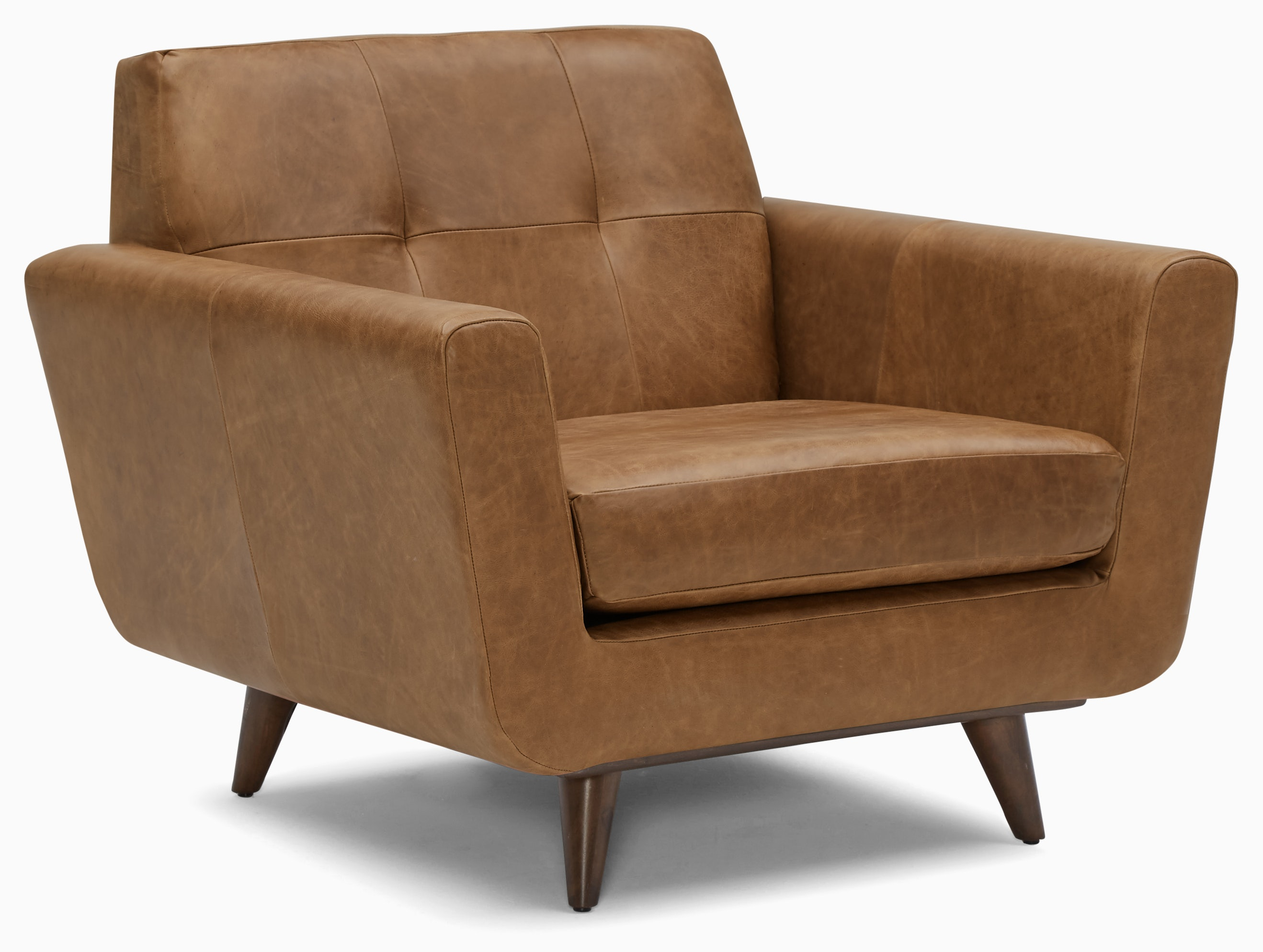 hughes leather chair santiago ale
