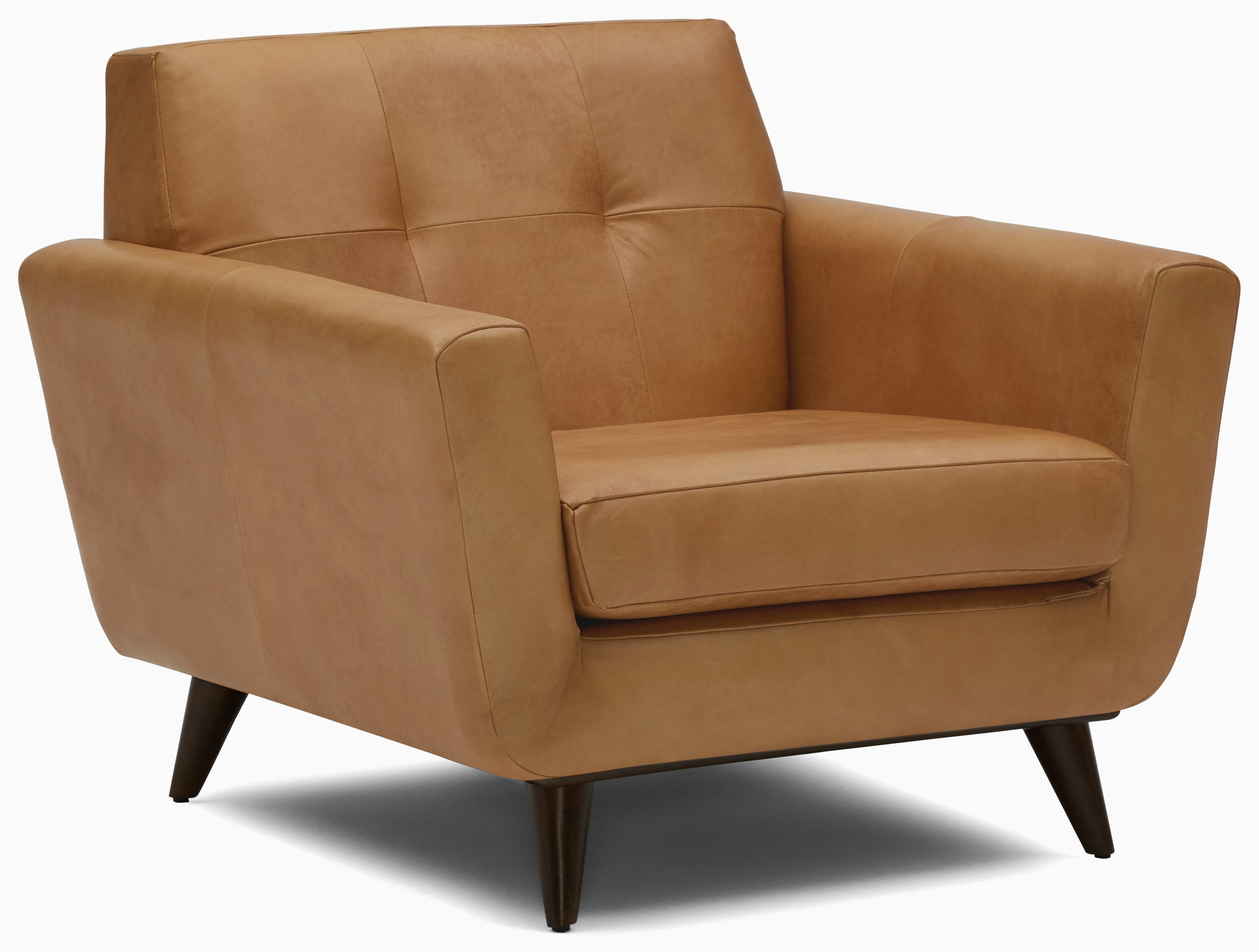 hughes leather chair santiago camel