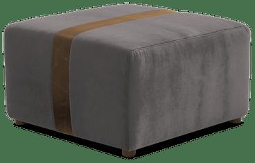 malachi ottoman taylor felt grey