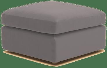 daya ottoman taylor felt grey