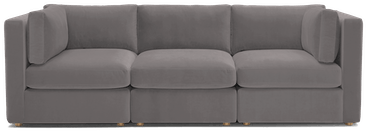 daya modular sofa taylor felt grey