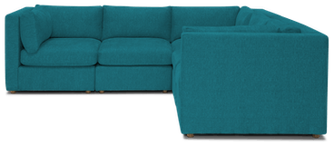 daya modular corner sectional antonio pool