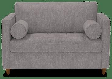 briar twin sleeper sofa taylor felt grey