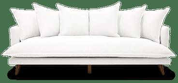 denna grand sofa tussah blizzard