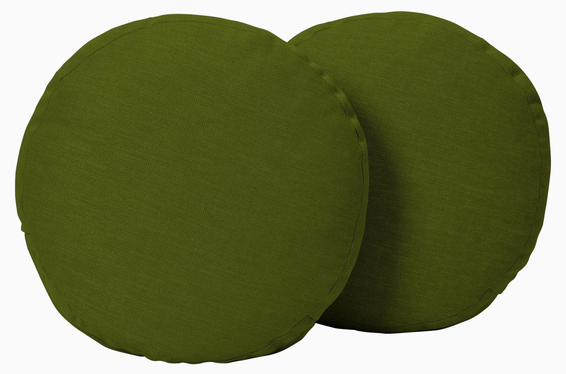 decorative round pillows %28set 2%29 royale apple