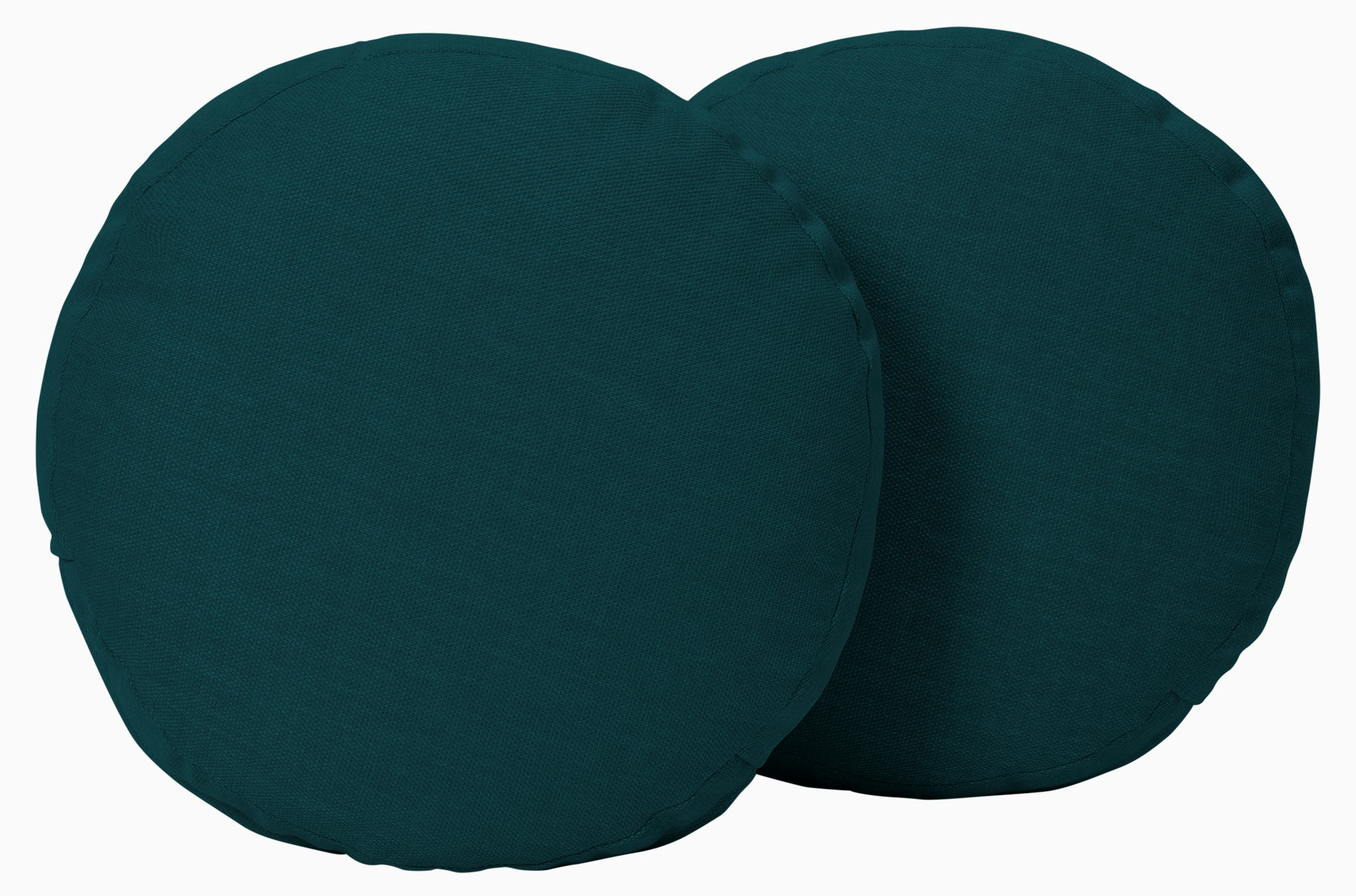 decorative round pillows %28set 2%29 royale peacock