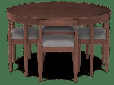 toscano dining set taylor felt grey