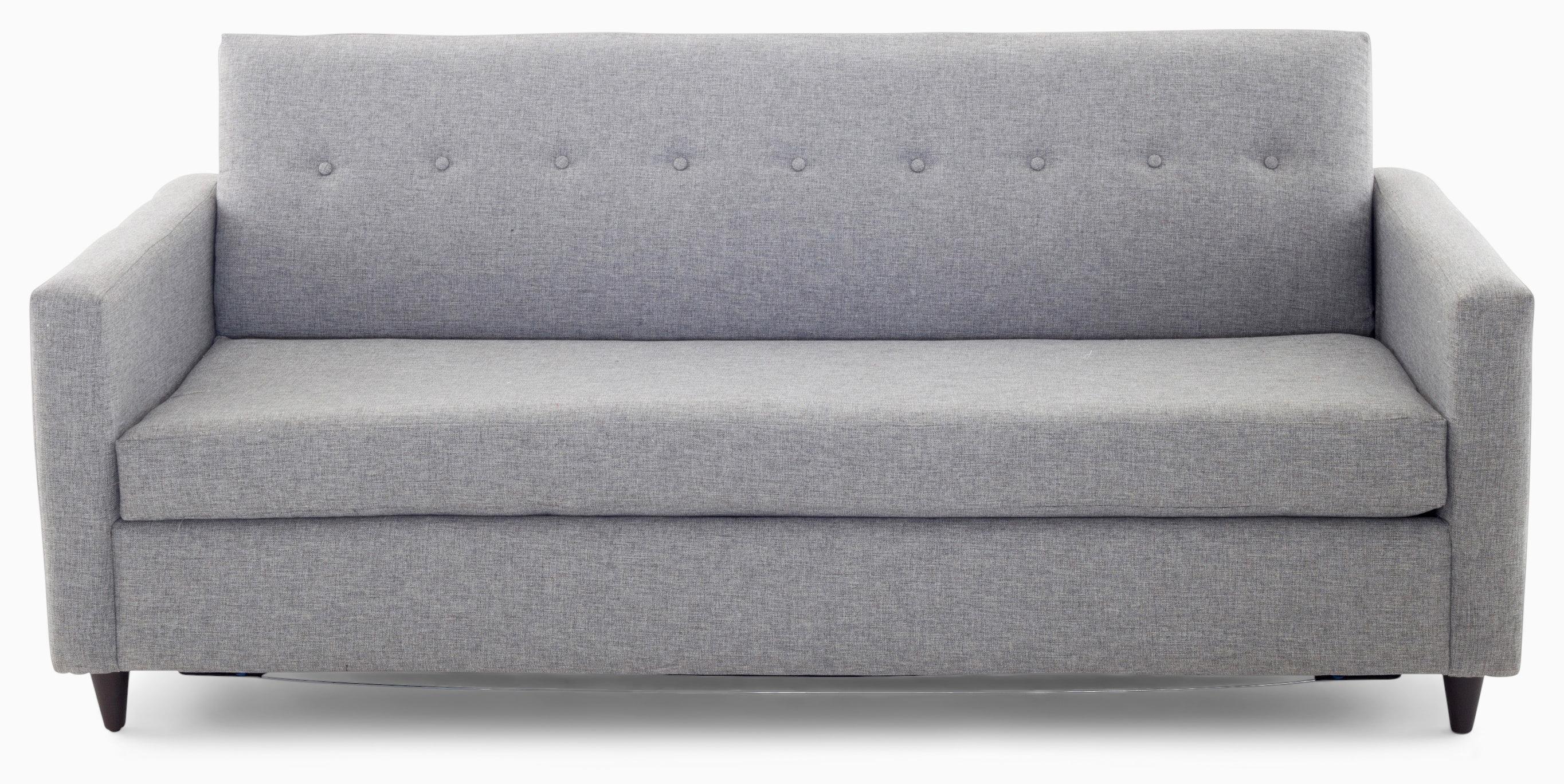 korver sleeper sofa taylor felt grey
