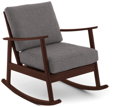 paley rocking chair taylor felt grey