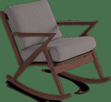 soto rocking chair taylor felt grey