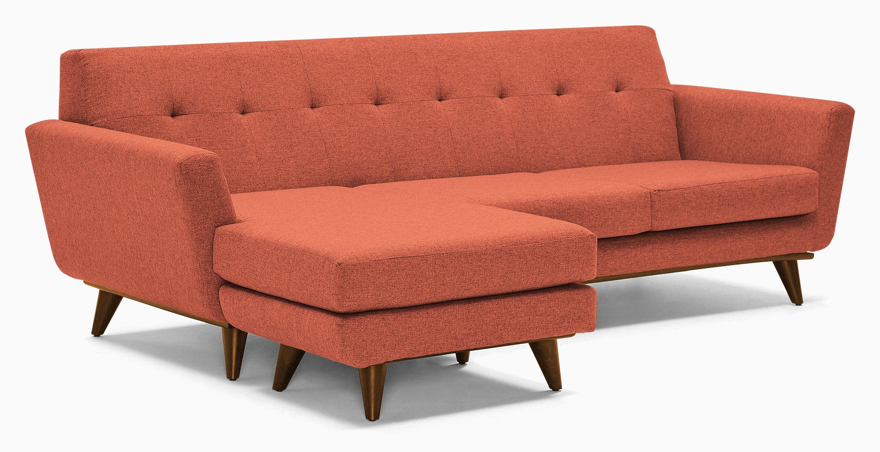 hughes reversible sectional key largo coral