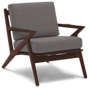 soto apartment chair taylor felt grey