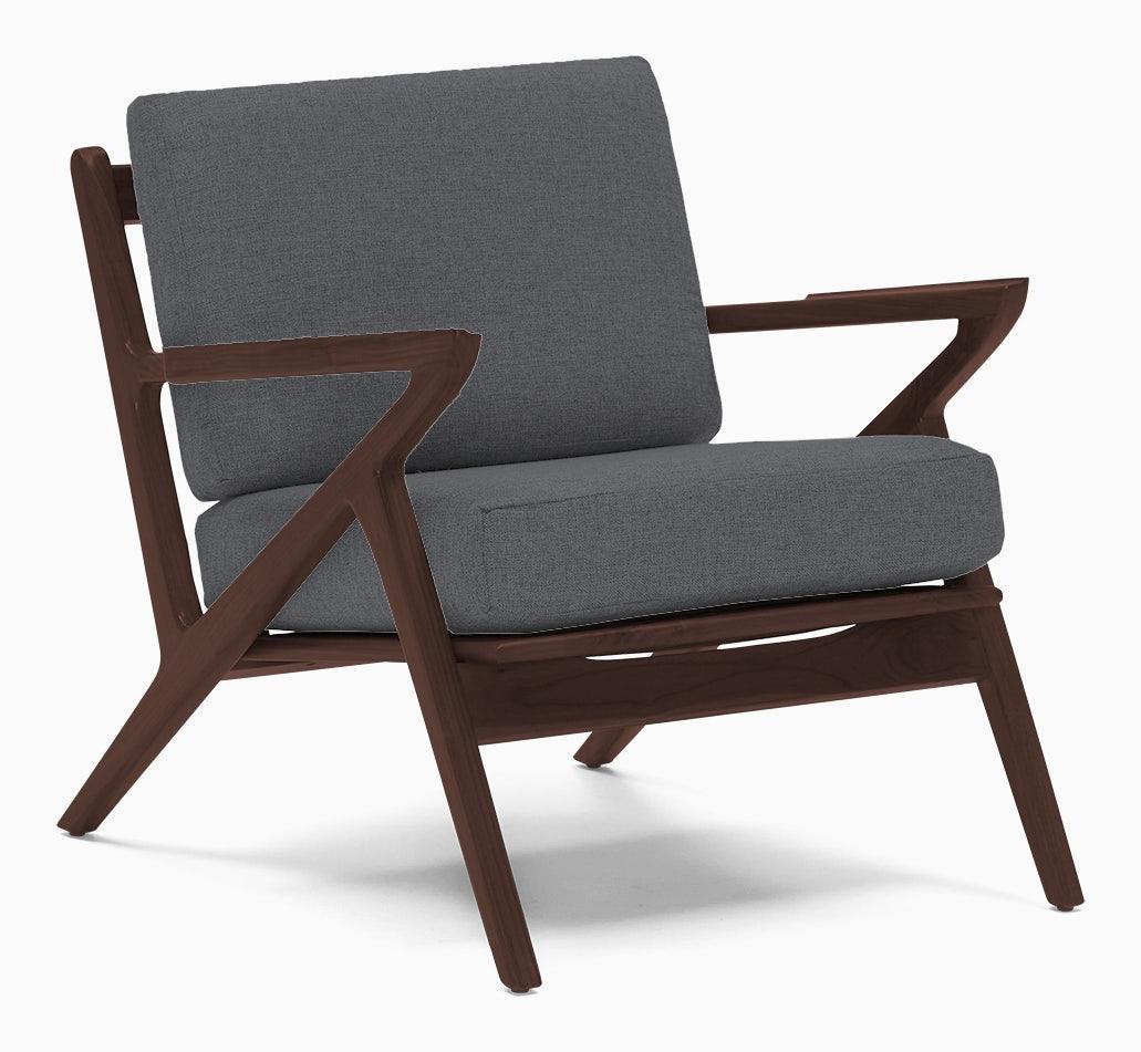soto concave arm chair essence ash