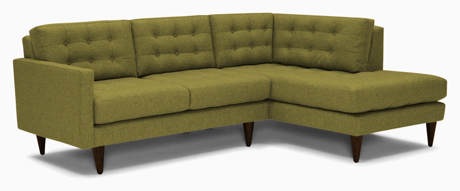 eliot apartment sectional with bumper key largo grass
