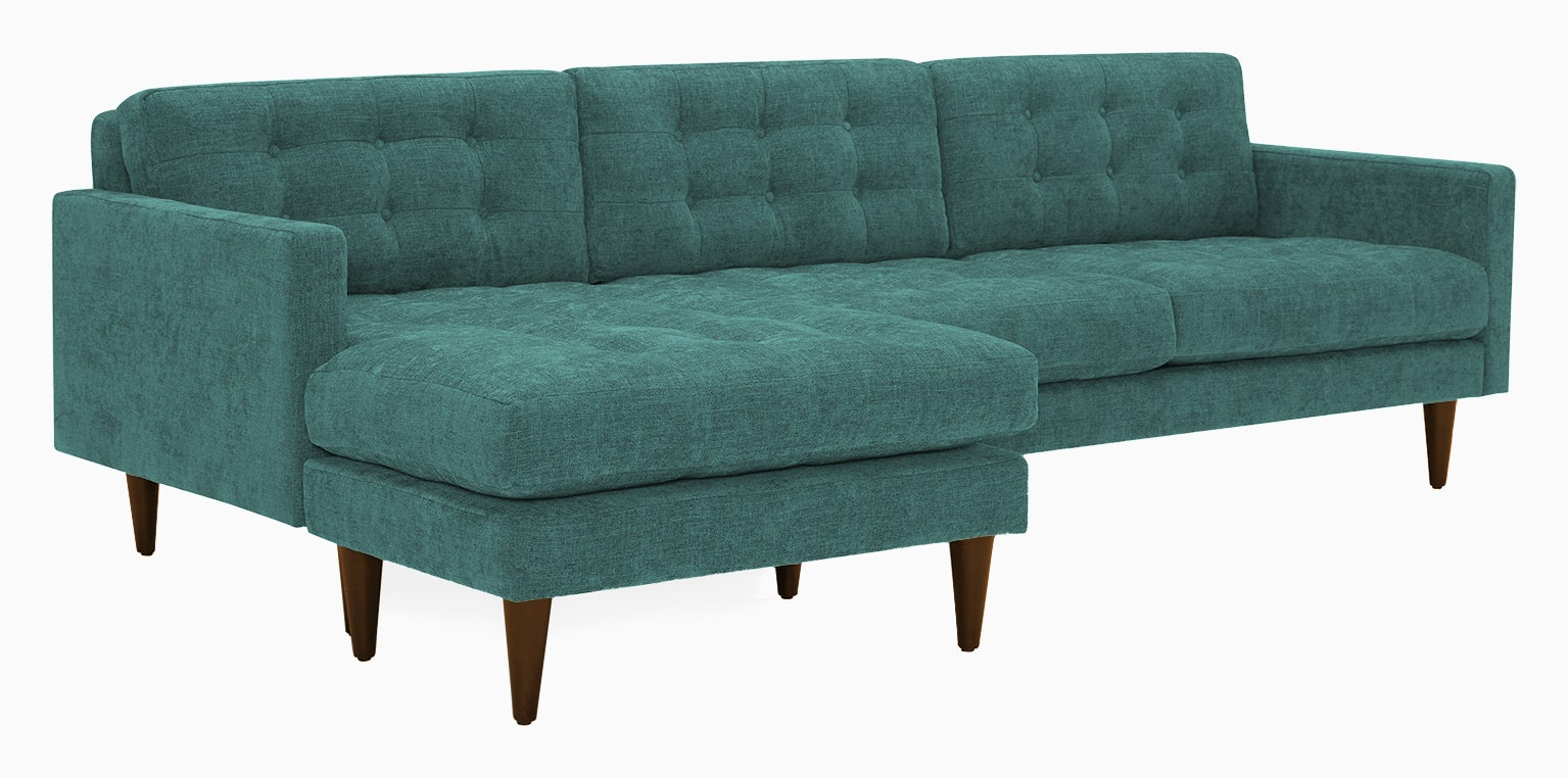 eliot reversible sectional essence aqua
