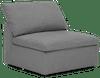 bryant armless chair taylor felt grey