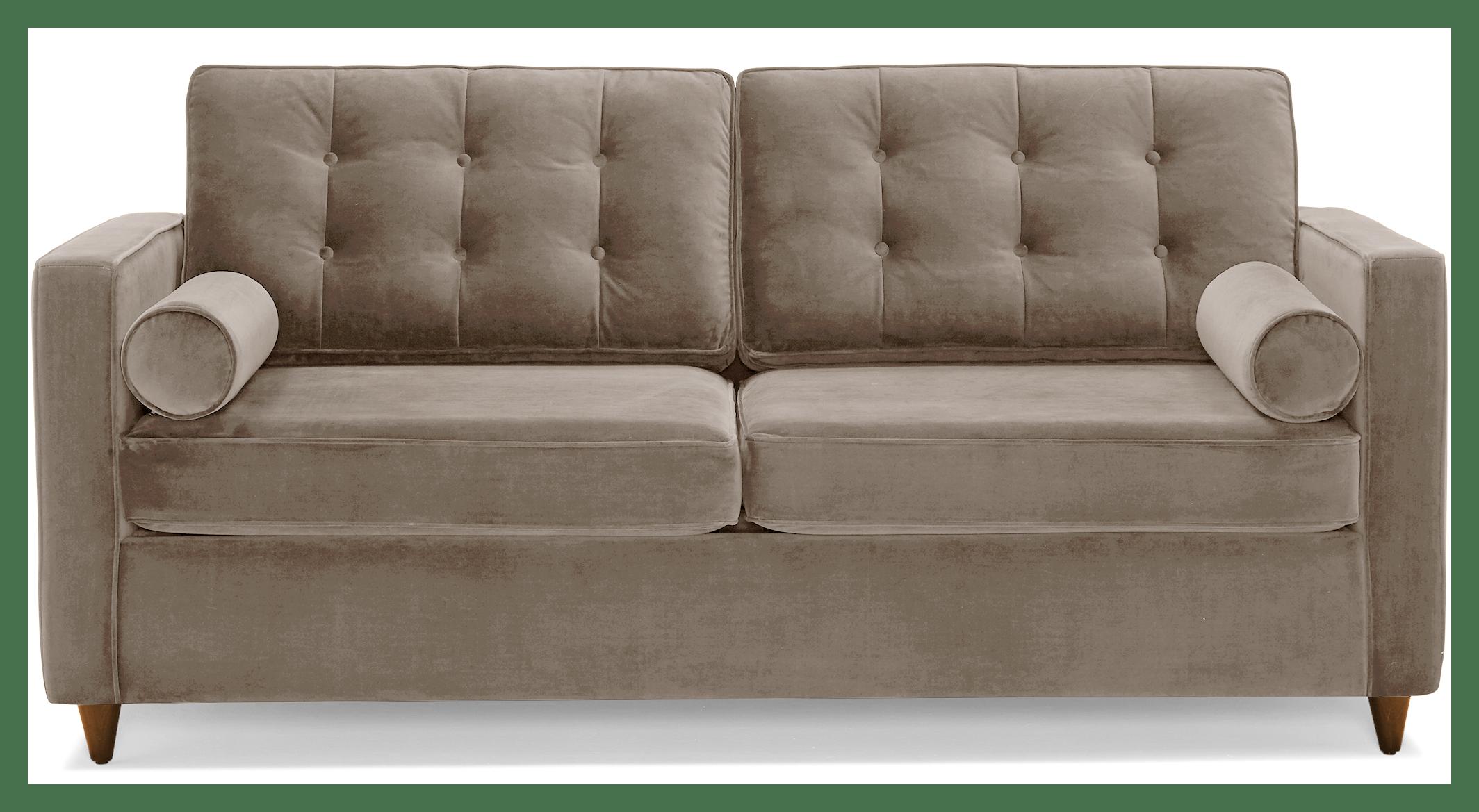 braxton sleeper sofa taylor felt grey