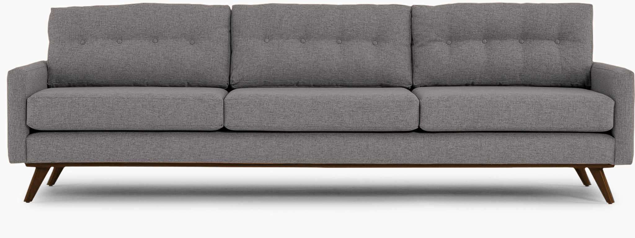 hopson grand sofa taylor felt grey