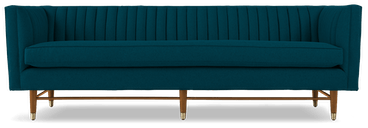 chelsea sofa key largo zenith teal