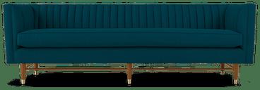 chelsea sofa key largo zenith teal