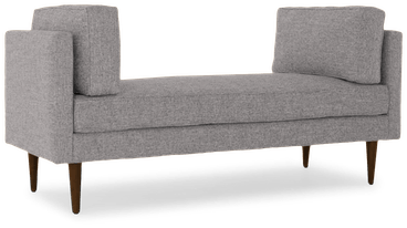 preston bench taylor felt grey