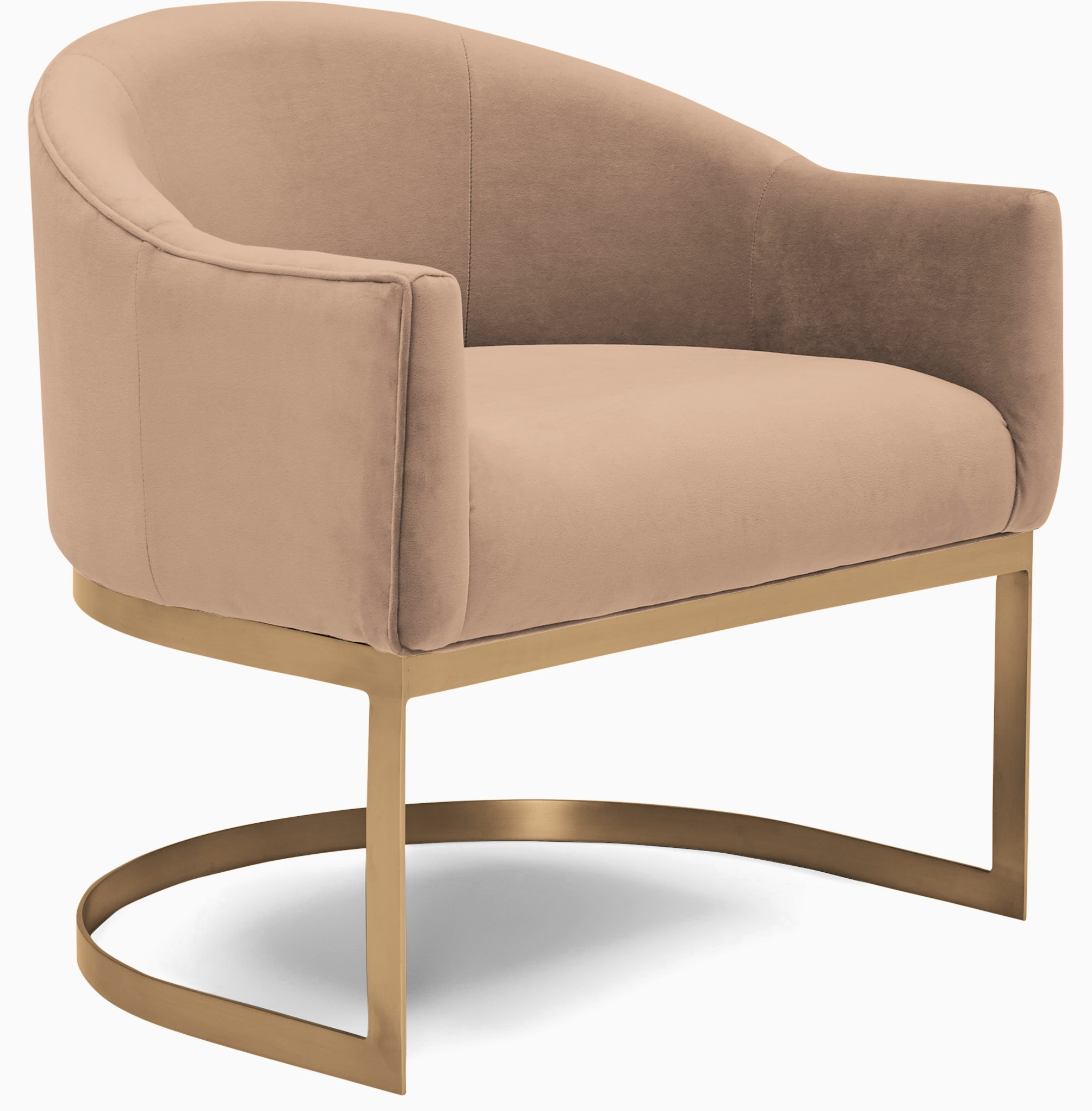 jolie accent chair royale blush