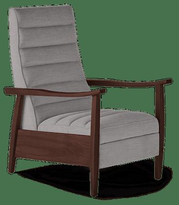 langham recliner taylor felt grey