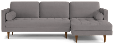 briar sectional taylor felt grey