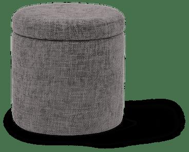 quinn petite storage ottoman taylor felt grey