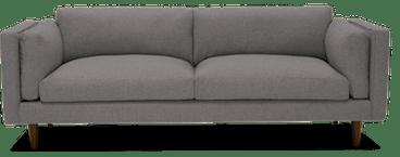 parker sofa taylor felt grey