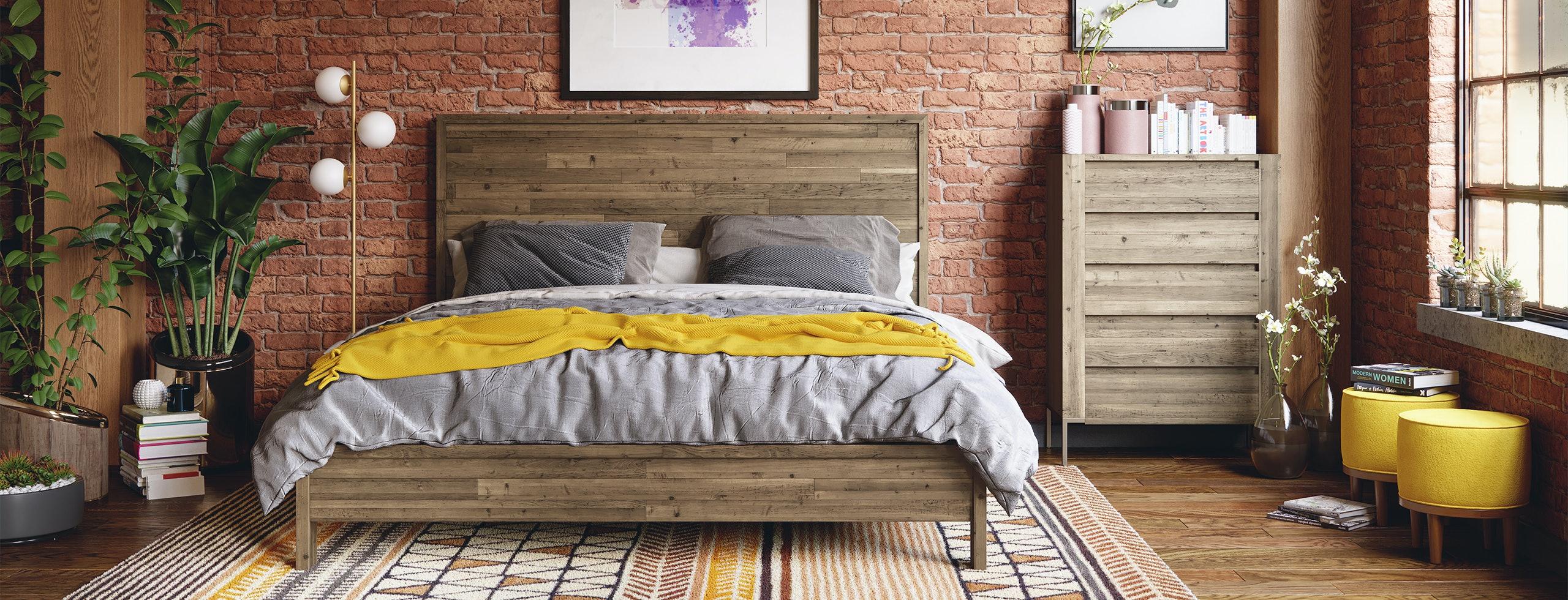 Joybird Afton bed Scene3B Variation2 2560x980