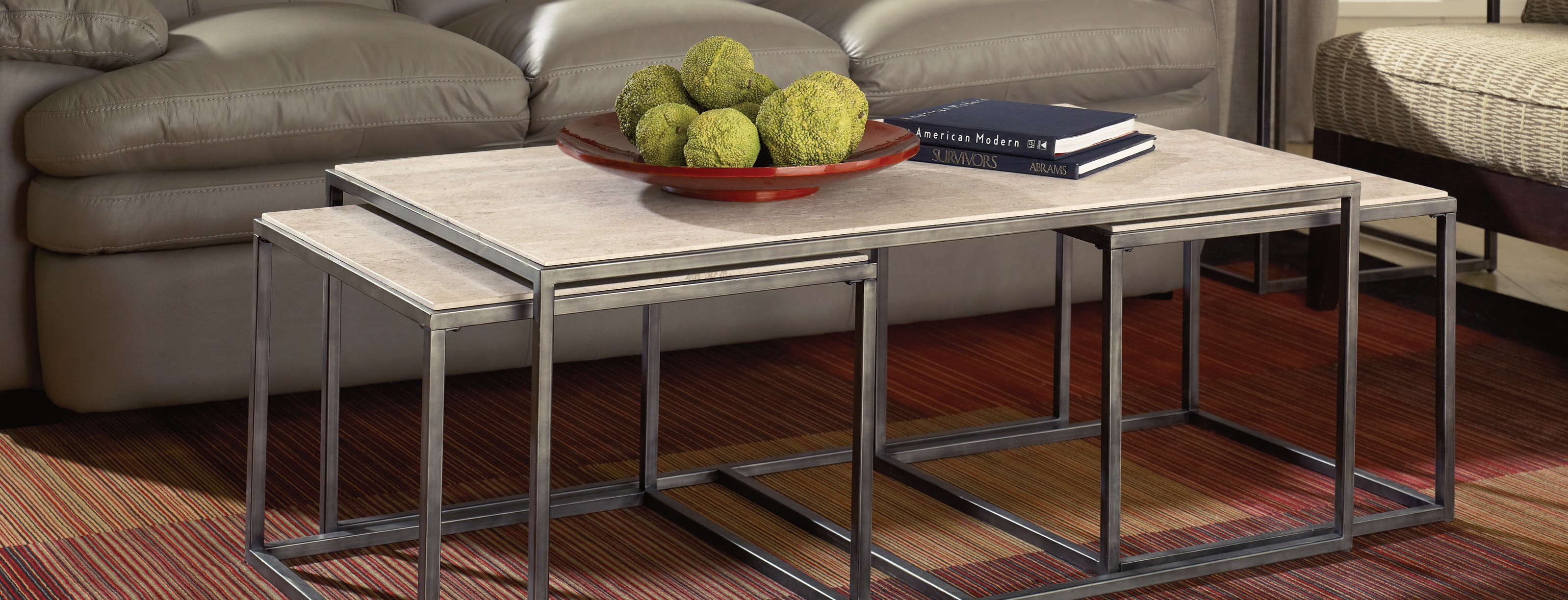 Atrium Bunching Coffee Table