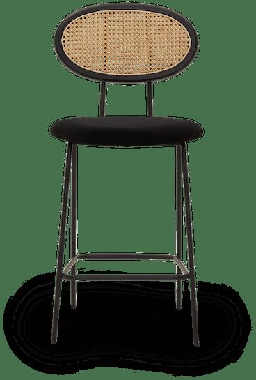 black calla counter stool