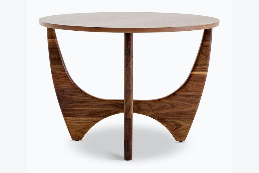 hero stern woodtop end table