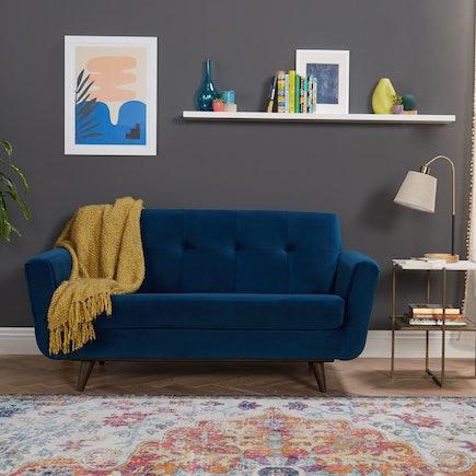 Hughes Apartment Sofa Royale Cobalt