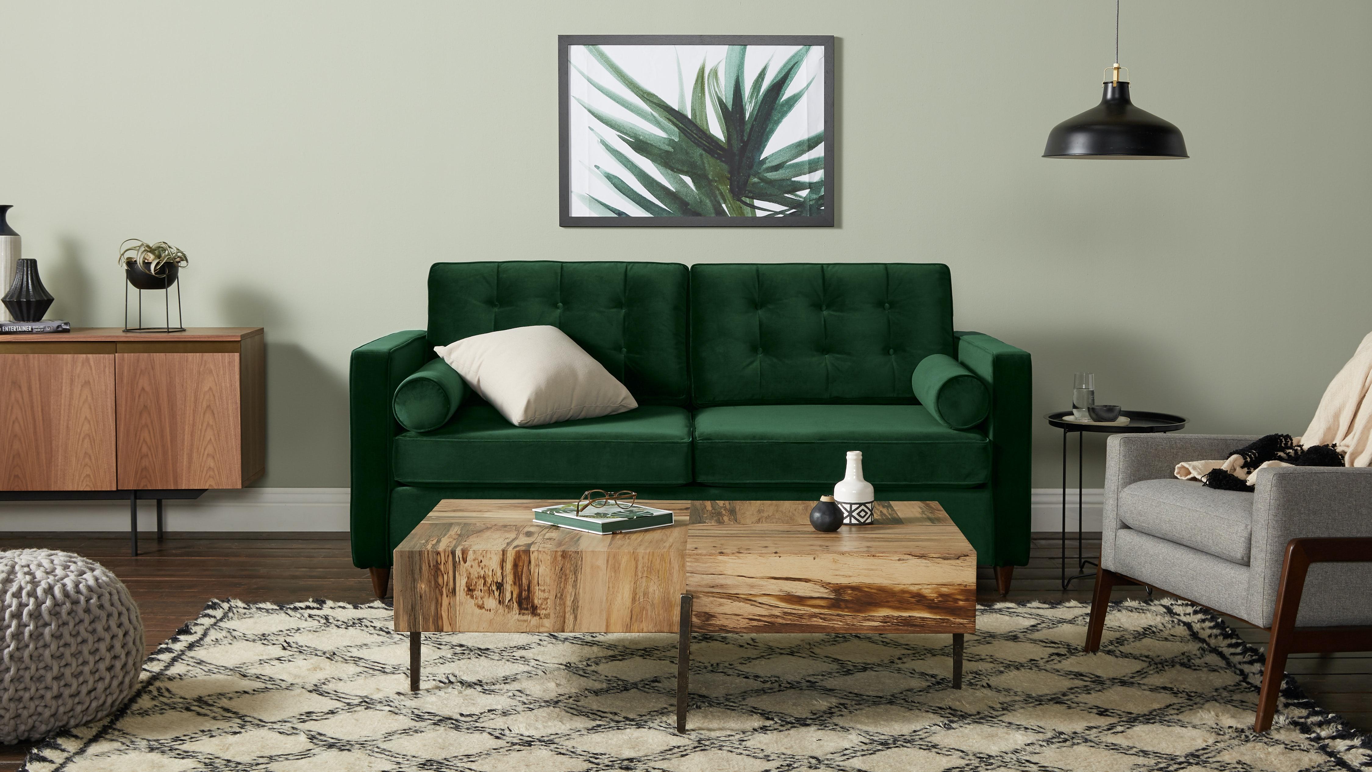 Braxton Sleeper Sofa Royale Evergreen