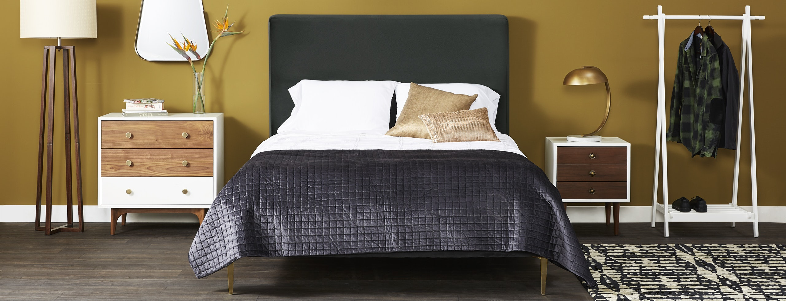 Oliff Bed Royale Gunmetal