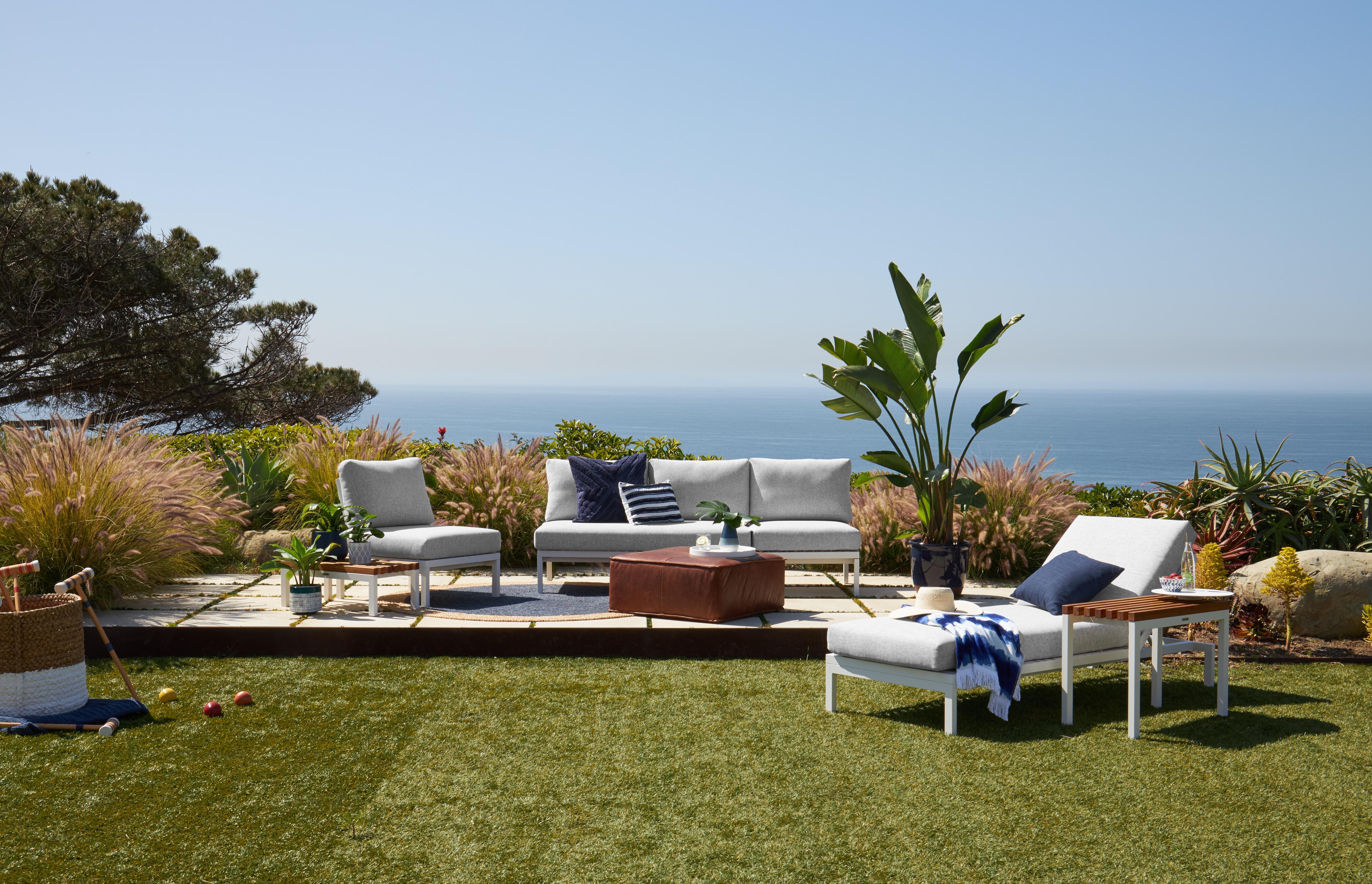 Scout Outdoor Convertible Sofa Lounge Joybird